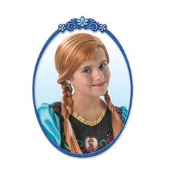 Princess Anna Disney Wig from Frozen by Rubies Costume