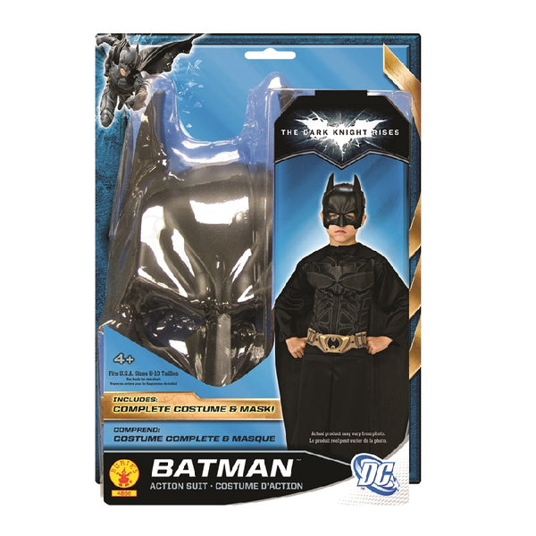 DC Comics The Dark Knight Batman Action Suit by Rubies Costume