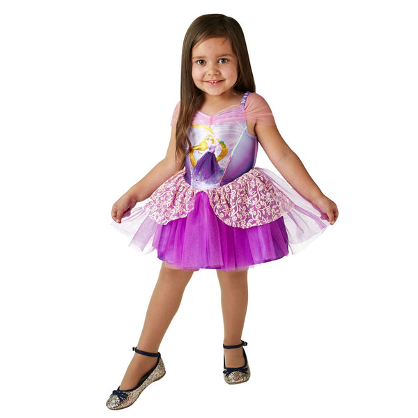 Disney Tangled Baby Toddler Princess Rapunzel Ballerina Dress