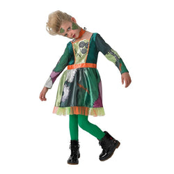 Halloween Frank N Girl Costume in green by Rubies Costume