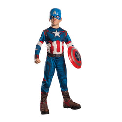 Marvel Avengers Age of Ultron Captain America Classic Costume with Shield by Rubies Costume