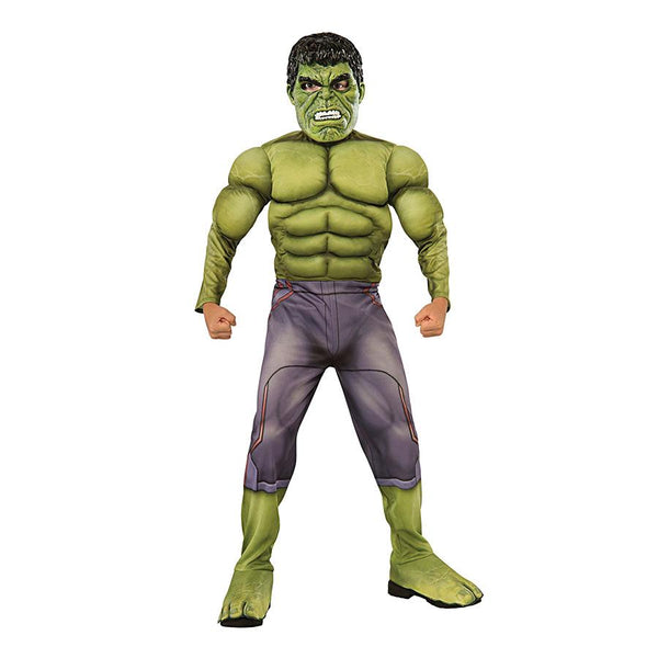 Avengers Age of Ultron Hulk Deluxe Costume by Rubies Costume