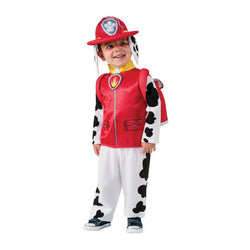 Paw Patrol Marshall Deluxe Costume in Red by Rubies Costume