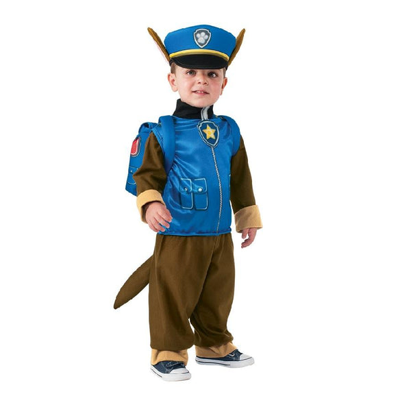 Paw Patrol Chase Deluxe Costume by Rubies Costume