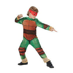 Teenage Mutant Ninja Turtle Classic Costume pose by Rubies Costume
