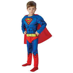 DC Comics Deluxe Comic Book Superman Costume