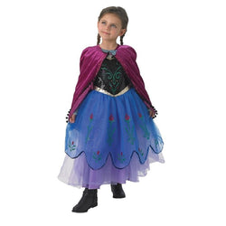 Disney Frozen Movie Anna Premium Dress by Rubies Costume
