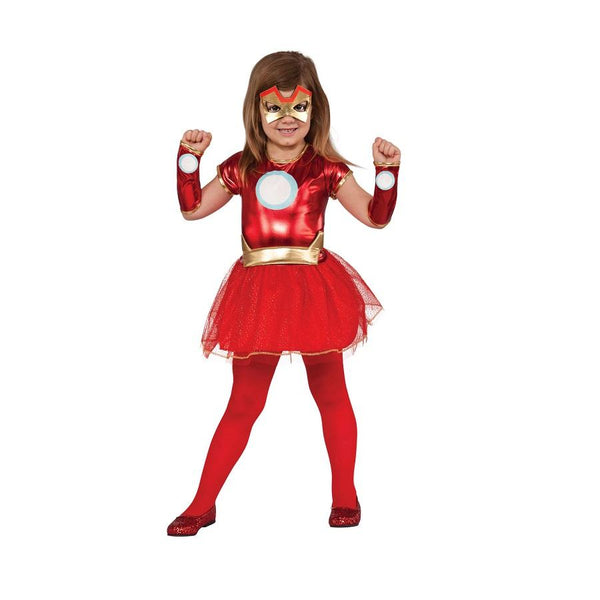 Marvel Iron Lady Tutu Costume by Rubies Costume
