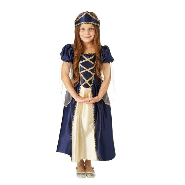 Book Week Renaissance Princess Costume in Navy and Beige by Rubies Cosume