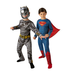 Batman Battle Armour & Superman Classic from Batman Vs Superman by Rubies Costume