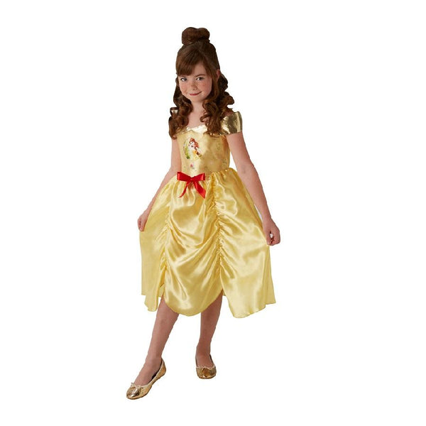 Disney's Princess Belle Fairy Tale Costume in gold by Rubies Costume