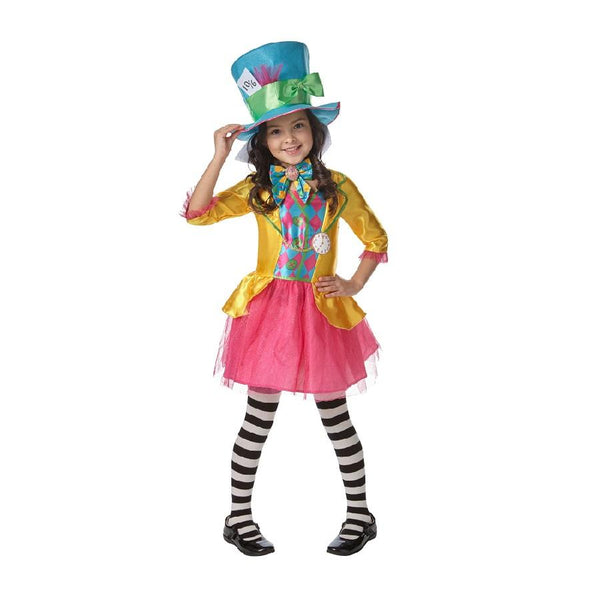 Book Week Mad Hatter Girl Child Costume by Rubies Costume