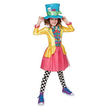Book Week Mad Hatter Girl Teens Costume by Rubies Costume