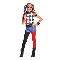 DC Comics Harley Quinn Deluxe Costume by Rubies Costume