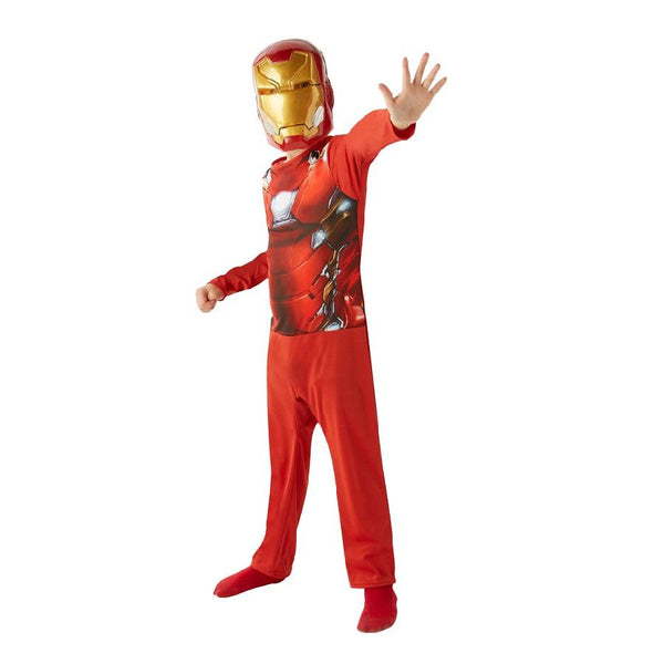 Avengers Civil War Iron Man Action Suit hand out pose by Rubies Costume