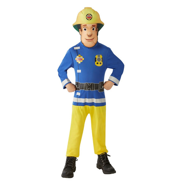 Official Fireman Sam Costume by Rubies Costume