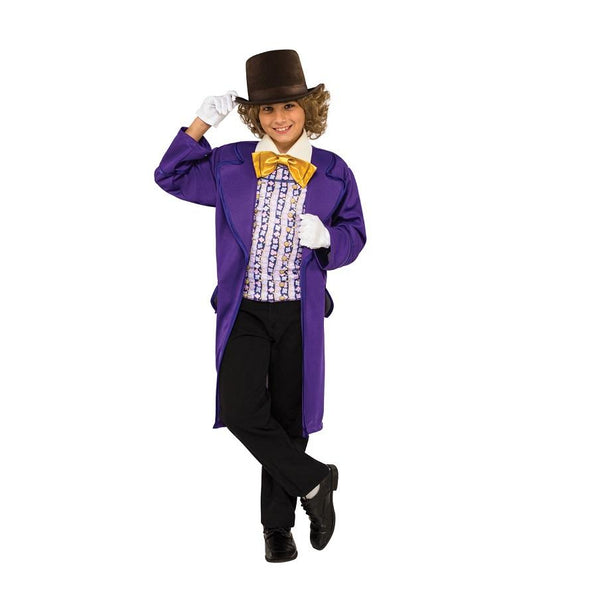 Book Week Willy Wonka Movie Costume by Rubies Costume
