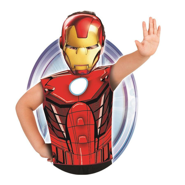 Marvel Iron Man Party Dress-Up Set by Rubies Costume