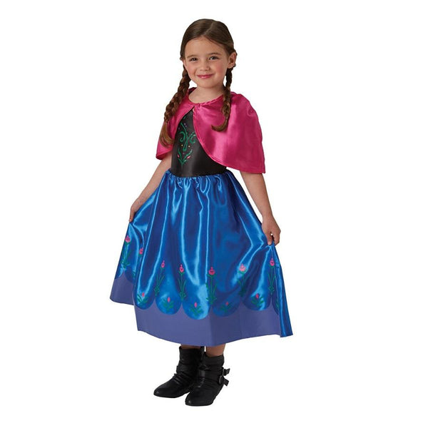 Disney Frozen Movie Classic Anna Dress, Costume