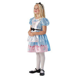 Book Week Alice in Wonderland Deluxe Girl Costume by Rubies Costume