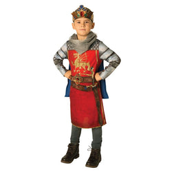 Book Week Anglo-Saxons King Arthur Costume in Red by Rubies Costume