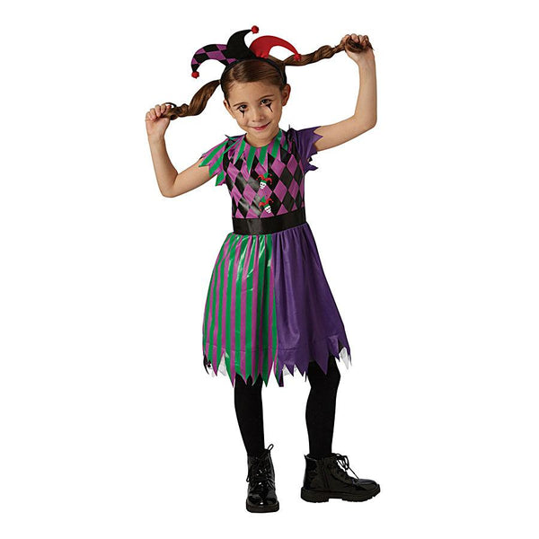 DC Comics Harley Quinn Jester Costume by Rubies Costume