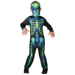 Halloween Neon Skeleton (Glow in the Dark) Costume
