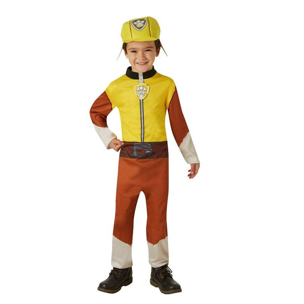 Nickelodeon Paw Patrol Rubble Costume