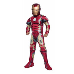 Marvel Iron Man Deluxe Costume by Rubies Costume