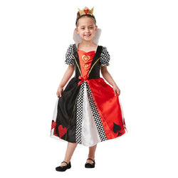 Book Week Red Queen AIW Costume in black, red and white by Rubies Costume