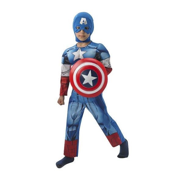 Marvel Captain America Deluxe Costume by Rubies Costume