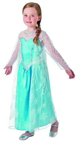 Disney Frozen Movie Elsa Deluxe Costume by Rubies Costume