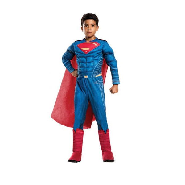 Justice League Superman Deluxe Costumes by Rubies Costume