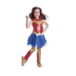 Justice League Wonder Woman Deluxe Costume by Rubies Costume