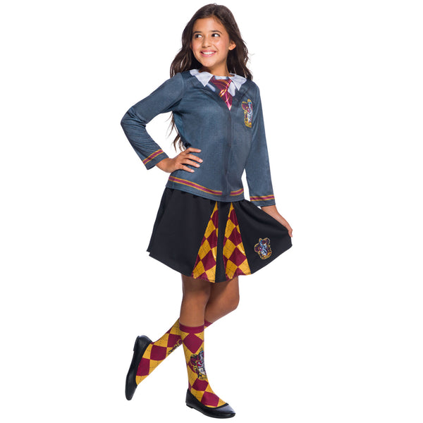 Warner Brothers Harry Potter Girls Gryffindor Costume Top
