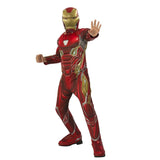Marvel Infinity War Deluxe Iron Man Costume by Rubies Costume