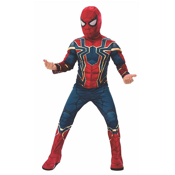 Infinity War Iron Spider, Spiderman Deluxe by Rubies Costume