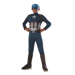 Infinity War Deluxe Captain America Costume by Rubies Costume