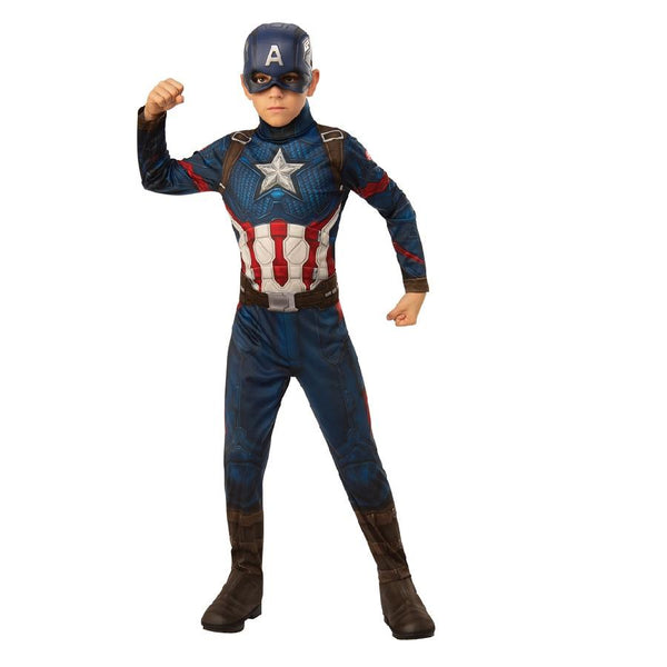 Marvel Comics Avengers Endgame Official Classic Captain America Costume
