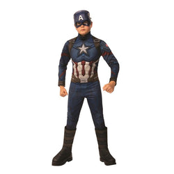 Marvel Comics Avengers Endgame Official Deluxe Captain America Costume
