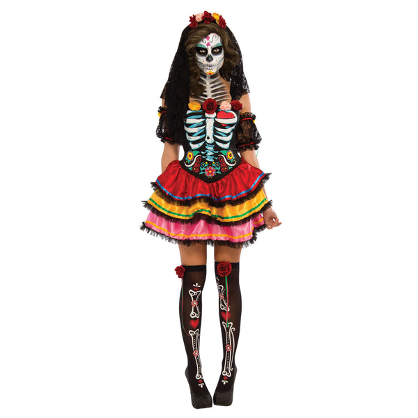Halloween Day of the Dead Adult Senorita Costume
