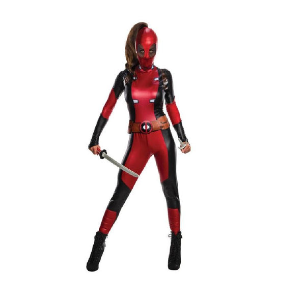 Marvel Female Adult Deadpool Secret Wishes Costume by Rubies Costume