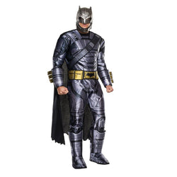 Warner Bros Adult Batman Armored Deluxe by Rubies Costume