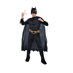 Warner Brothers DC Comics The Dark Knight Rises Batman Costume Kit Box by Rubies Costume