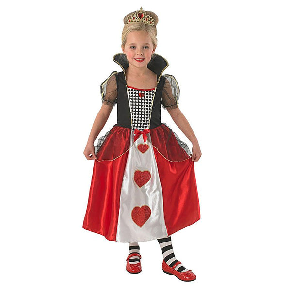 Disney Alice In Wonderland Official Queen of Hearts Costume
