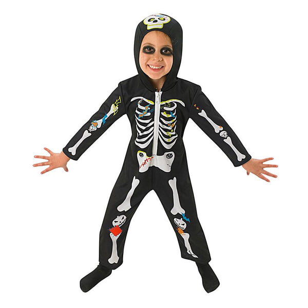 Halloween Children's Skeleton Costume by Rubies Costume