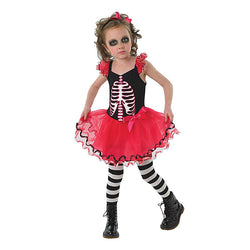 Halloween Children's Skull Dress by Rubies Costume