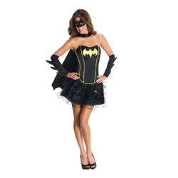 Warner Brothers Batgirl Corset Costume for Adults by Rubies Costumes