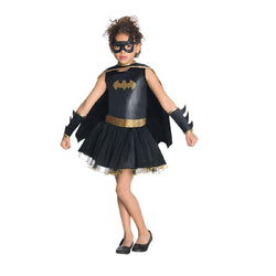 Warner Brothers DC Comics Batgirl Classic Costume in Black by Rubies Costume