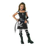 Halloween Pirate Scarlet Girls Costume